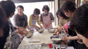 発酵食の大切さの講義と実技